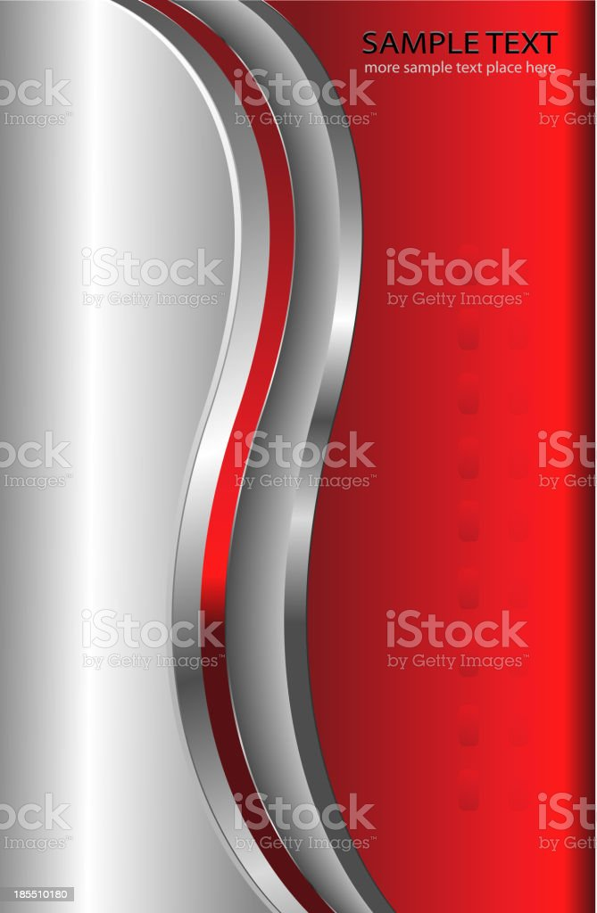 abstract background red metallic royalty-free stock vector art