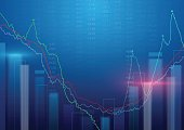 Abstract background. Stock Market background