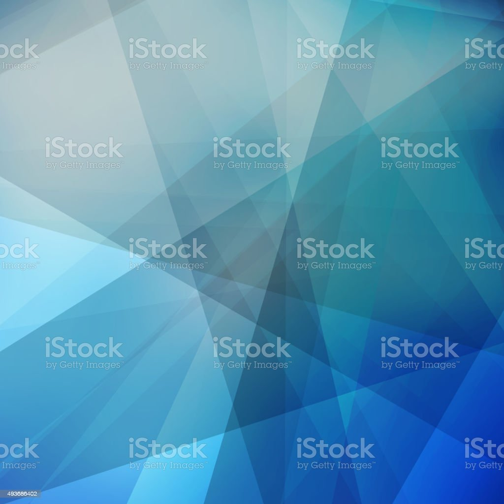 Abstract Background - Triangles vector art illustration