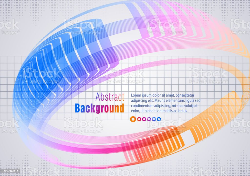 Abstract Background vector art illustration