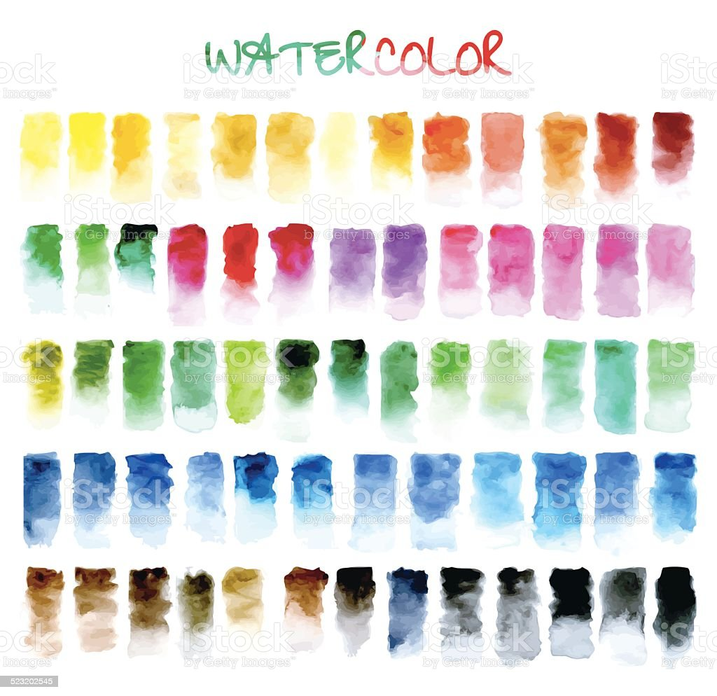 abstract background. water color vector art illustration