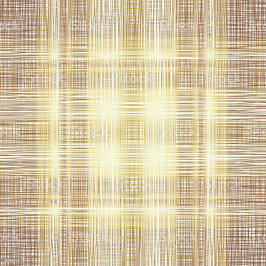 Abstract Background With Brown Yellow Threads. Vector Illustrati royalty-free stock vector art