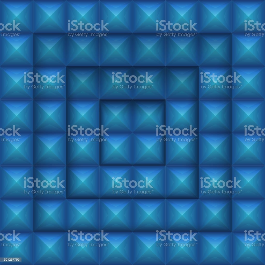 Abstract Background with Cubes royalty-free stock vector art
