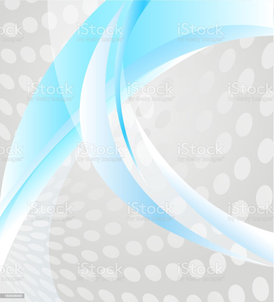 Abstract background with elements of lines and spots royalty-free stock vector art