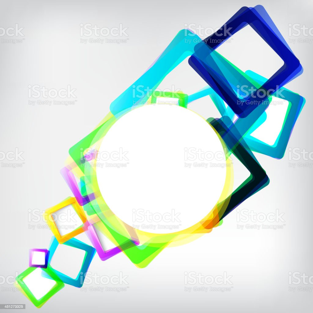 Abstract background with geometric elements royalty-free stock vector art