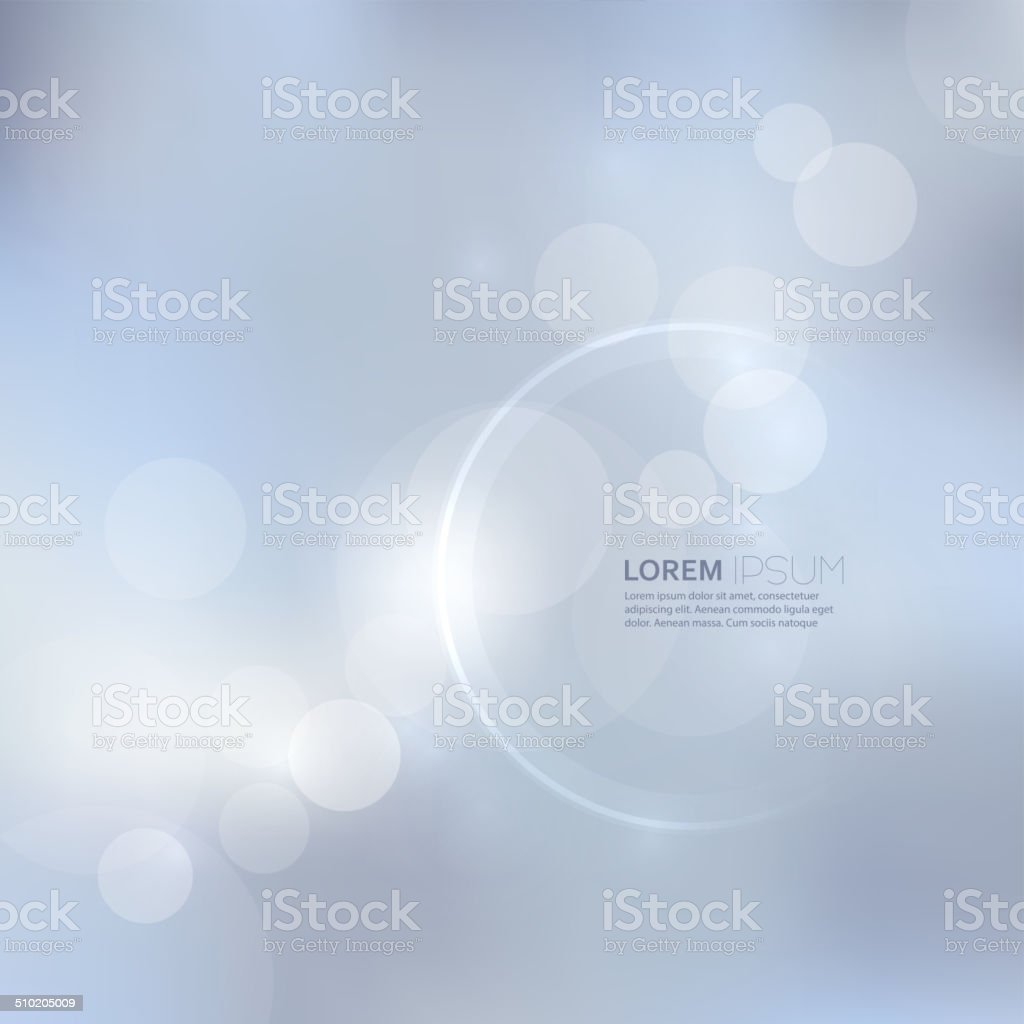 Abstract background with light and bright spots. vector art illustration