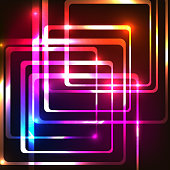 Abstract background with rounded rectangles