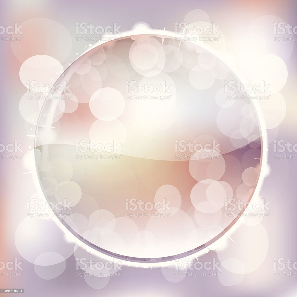Abstract background with soft lights royalty-free stock vector art