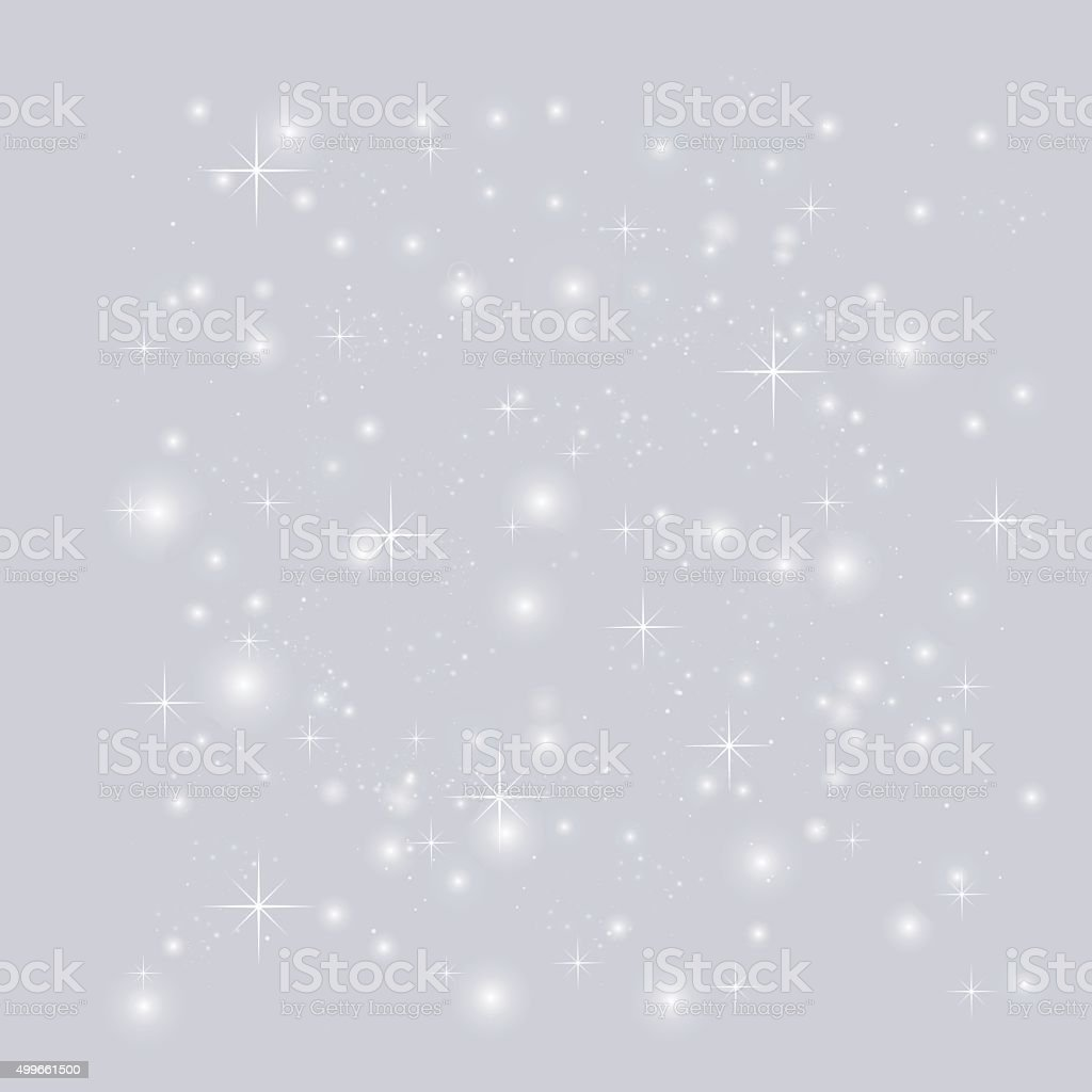 Abstract background with stars vector art illustration