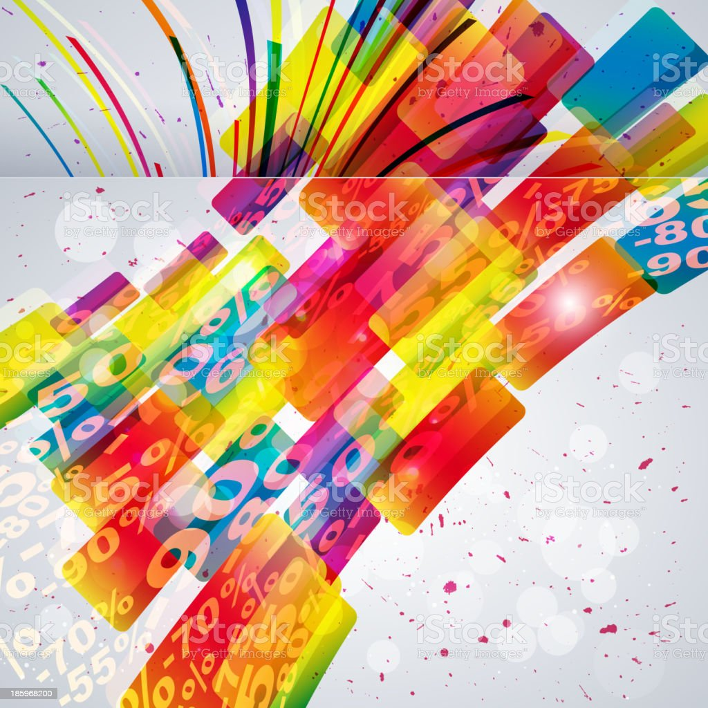 Abstract background with vector design elements. royalty-free stock vector art