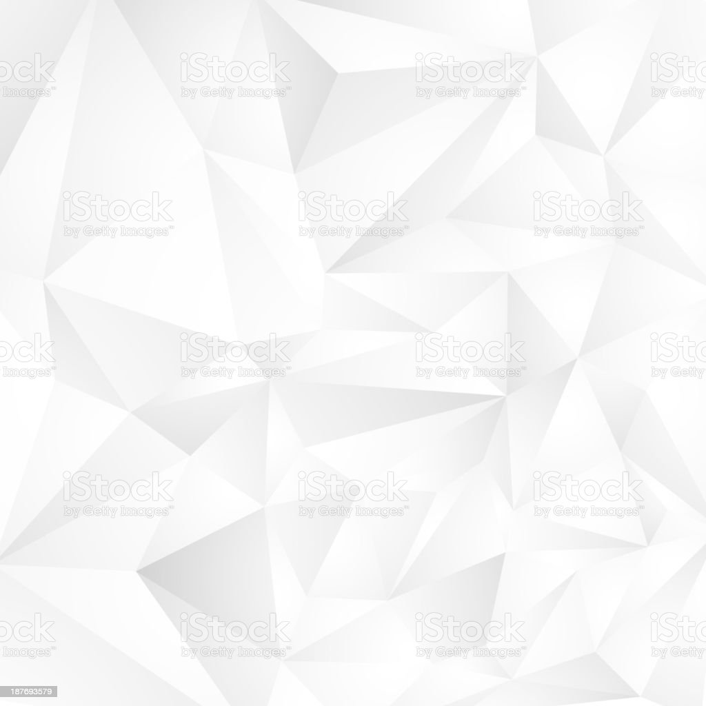 abstract background with white triangles royalty-free stock vector art