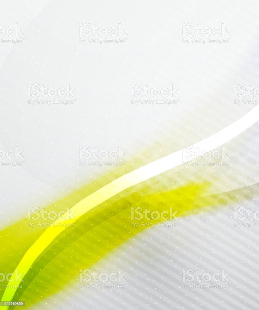 Abstract Background - Yellow shiny blurred wave vector art illustration