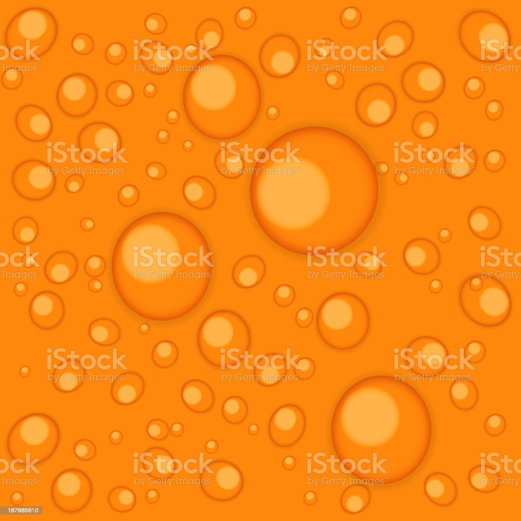 Abstract backgrounds with water drops vector illustration royalty-free stock vector art