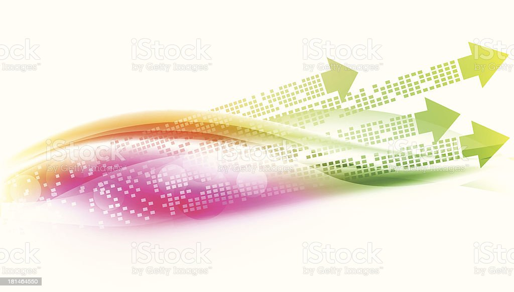 Abstract banner background - VECTOR royalty-free stock vector art