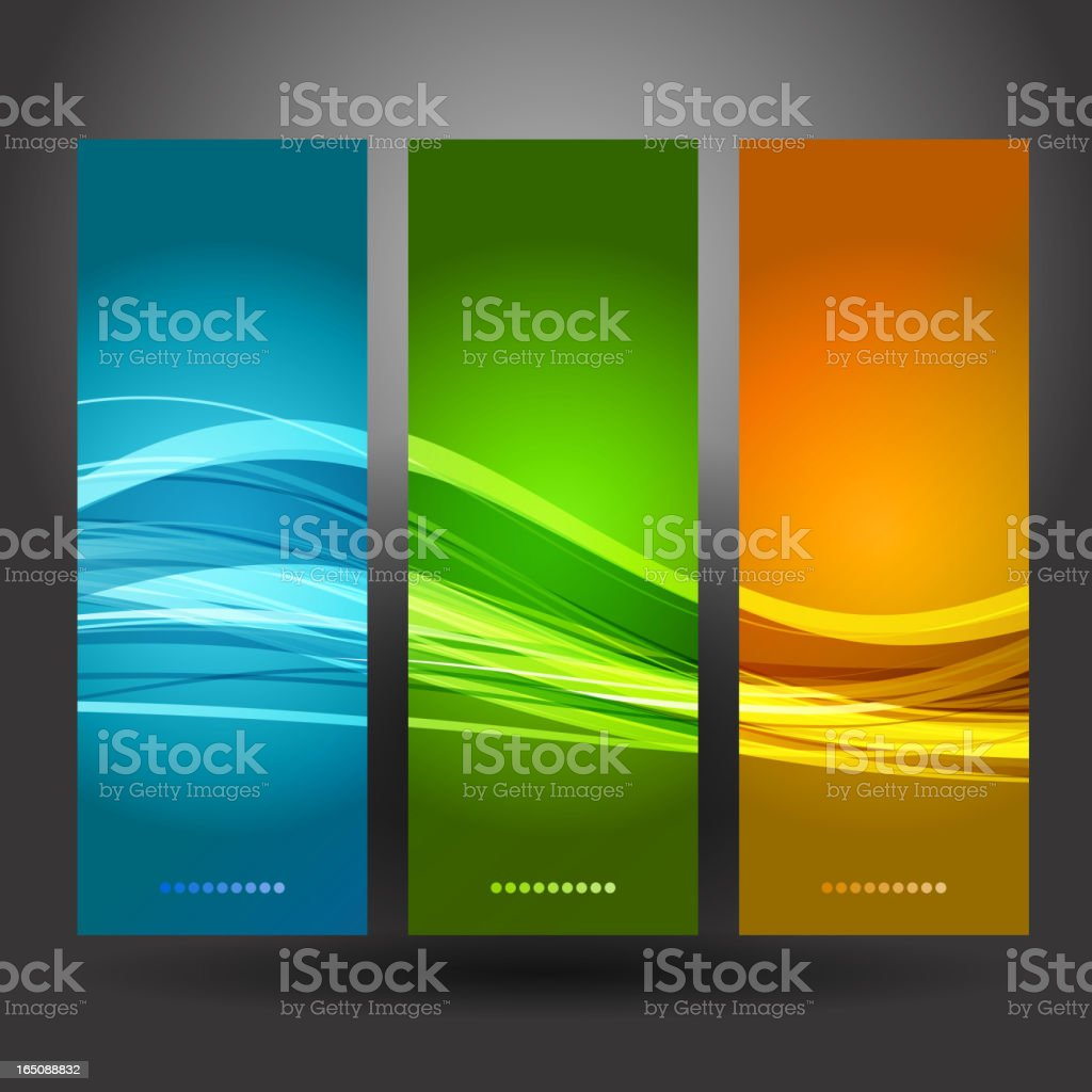 Abstract banner royalty-free stock vector art