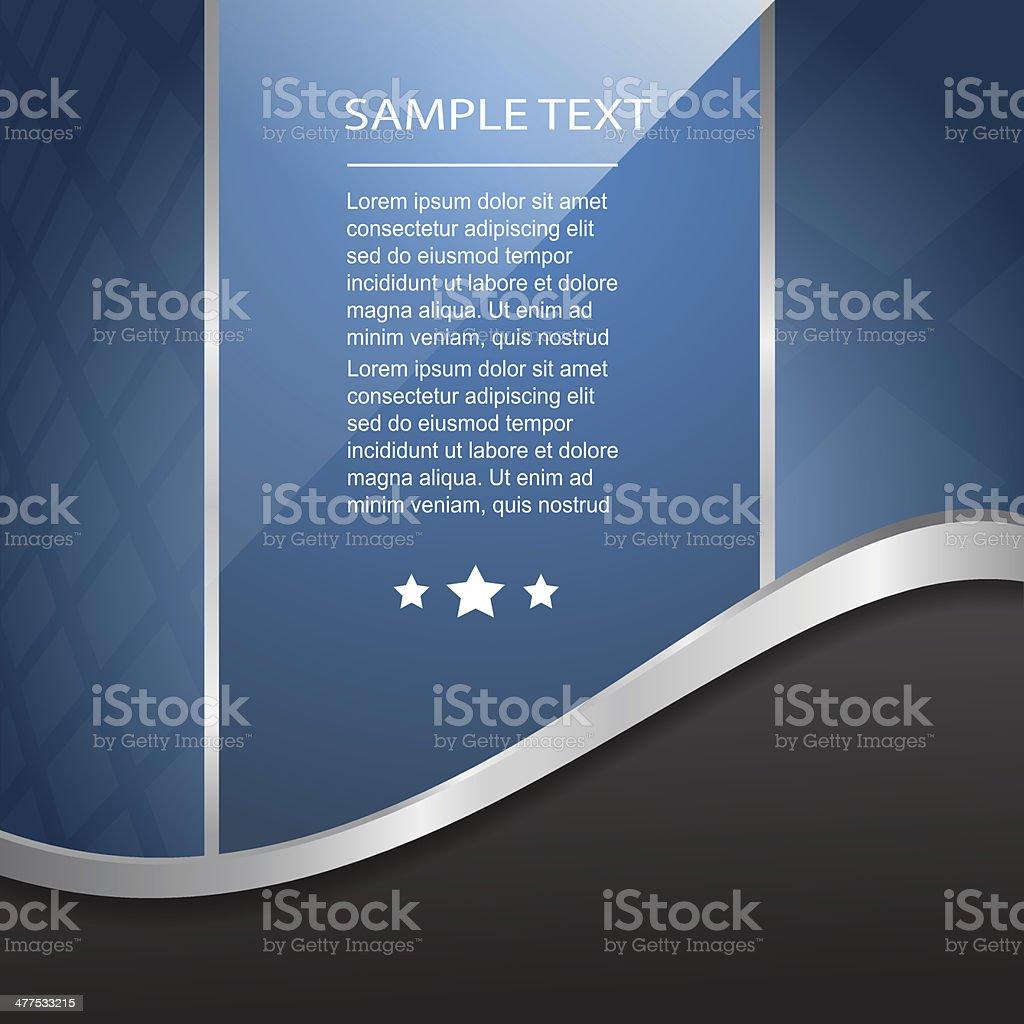 Abstract Banner vector art illustration