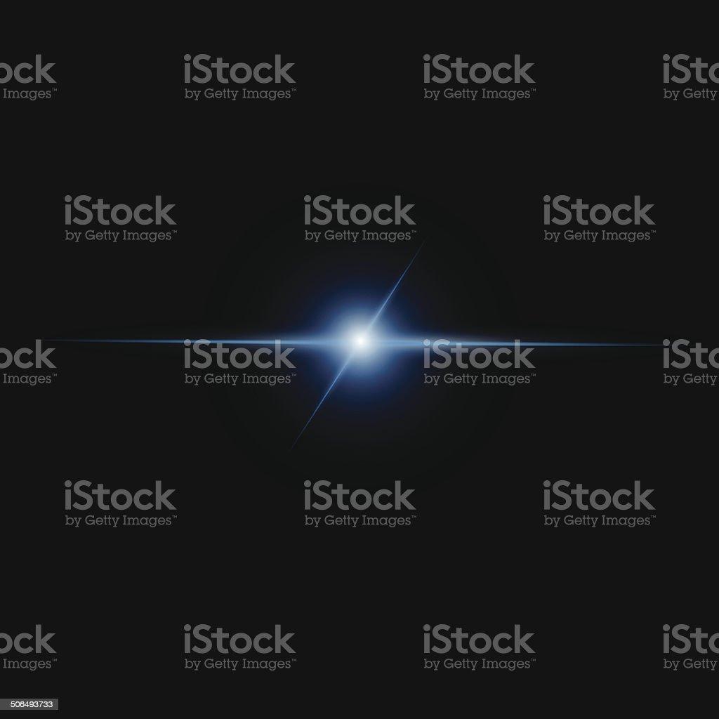 Abstract beam Light vector art illustration