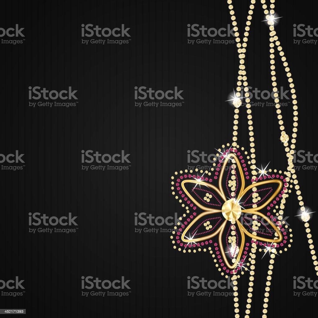 Abstract beautiful black diamond background vector illustration royalty-free stock vector art