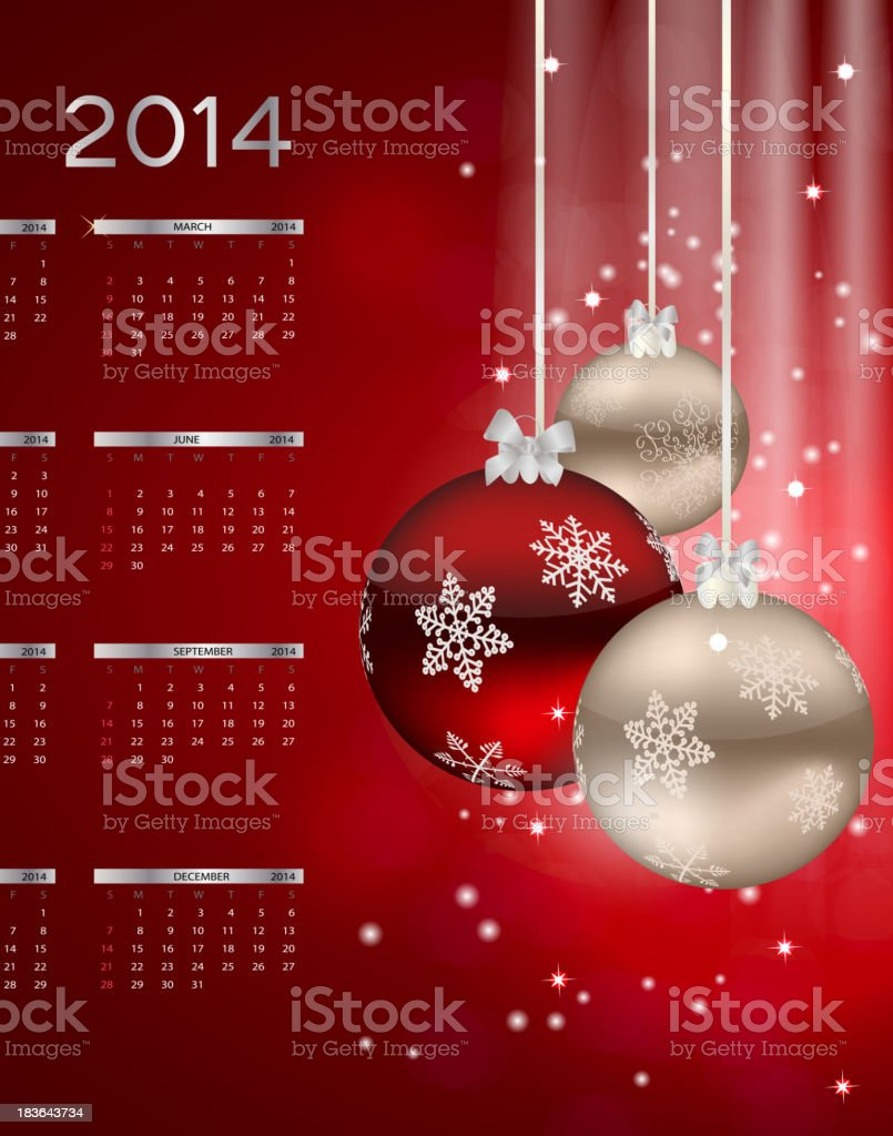 Abstract beauty Christmas and New Year background. vector illustration royalty-free stock vector art