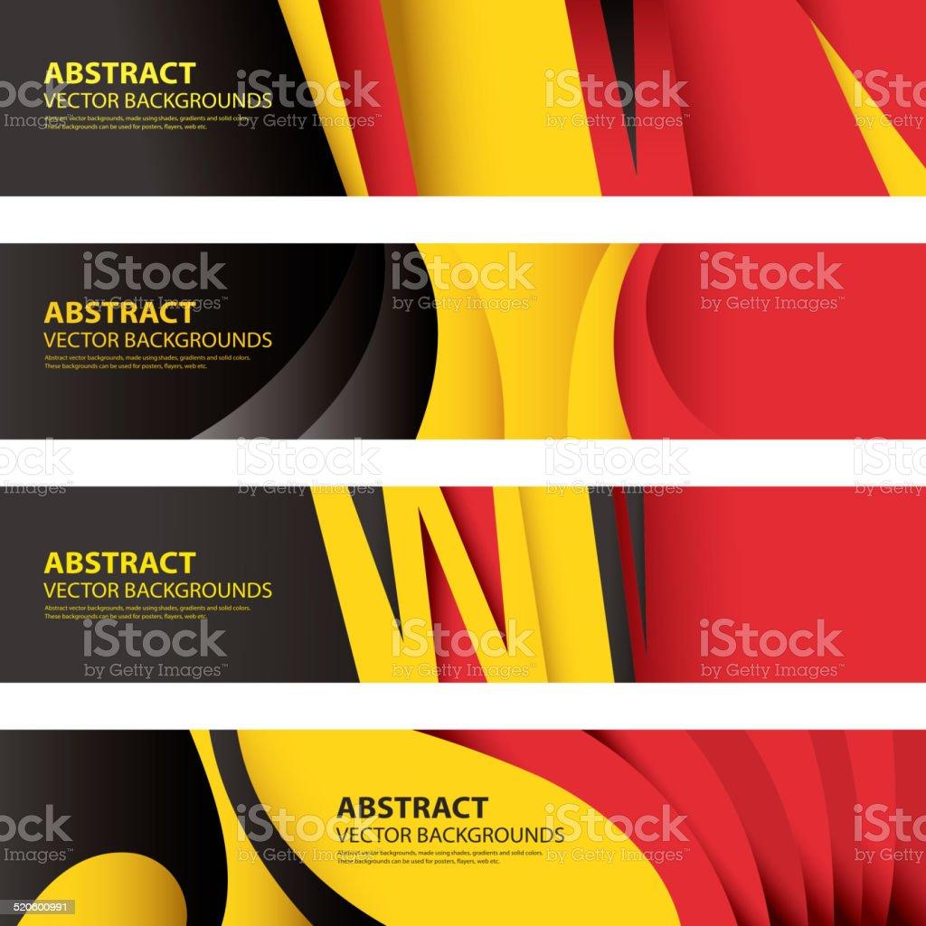 Abstract Belgian Flag Background, Belgium Art(Vector Art) vector art illustration