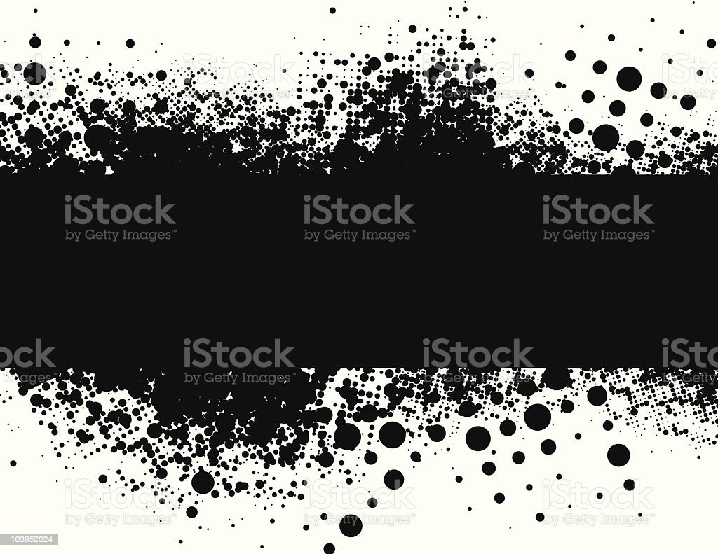Abstract black and white background royalty-free stock vector art