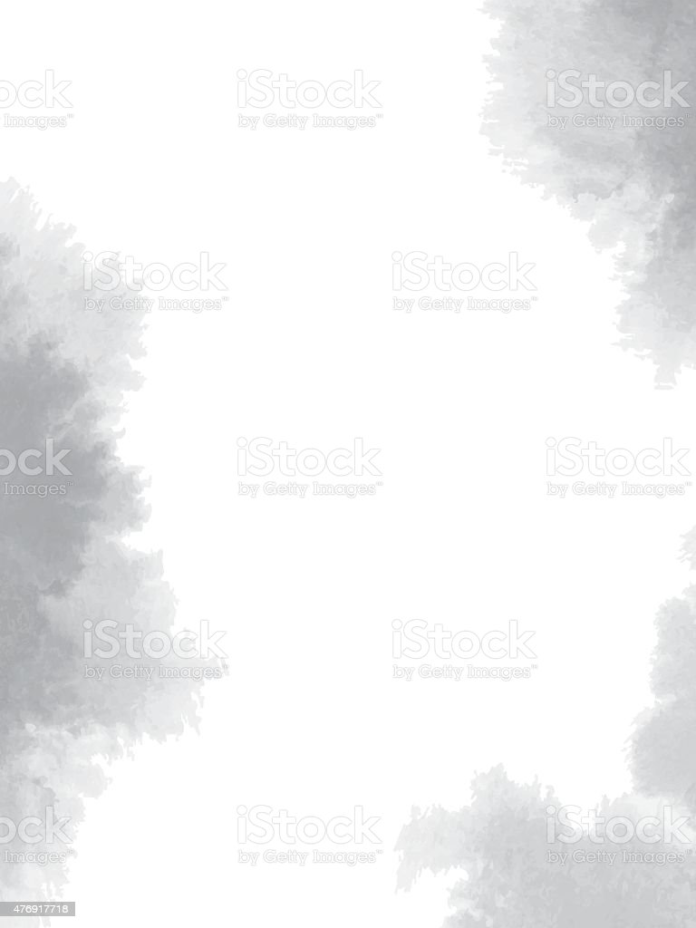 Abstract black  watercolor background vector art illustration