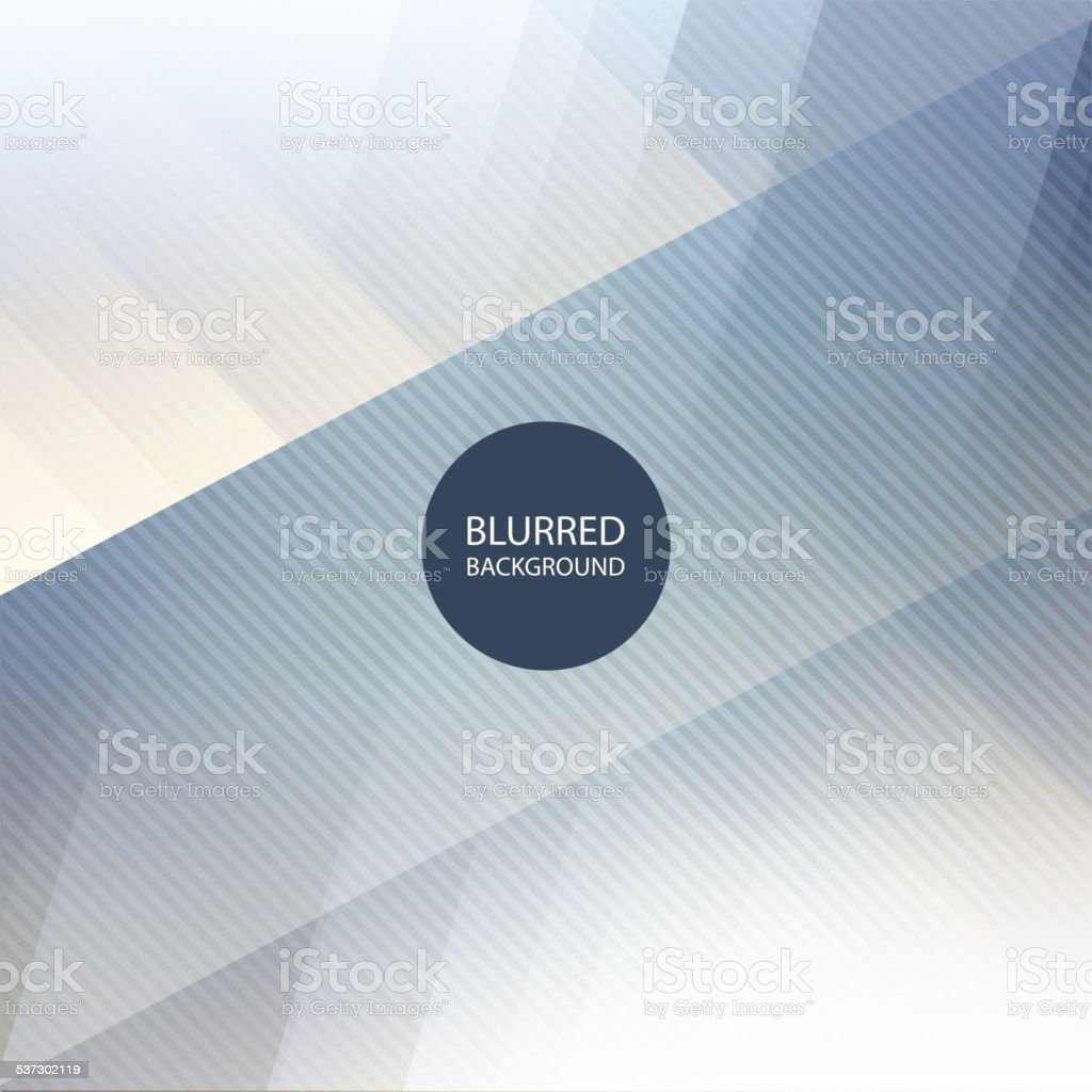 Abstract Blue and White Background Design with Blurred Image Pattern vector art illustration