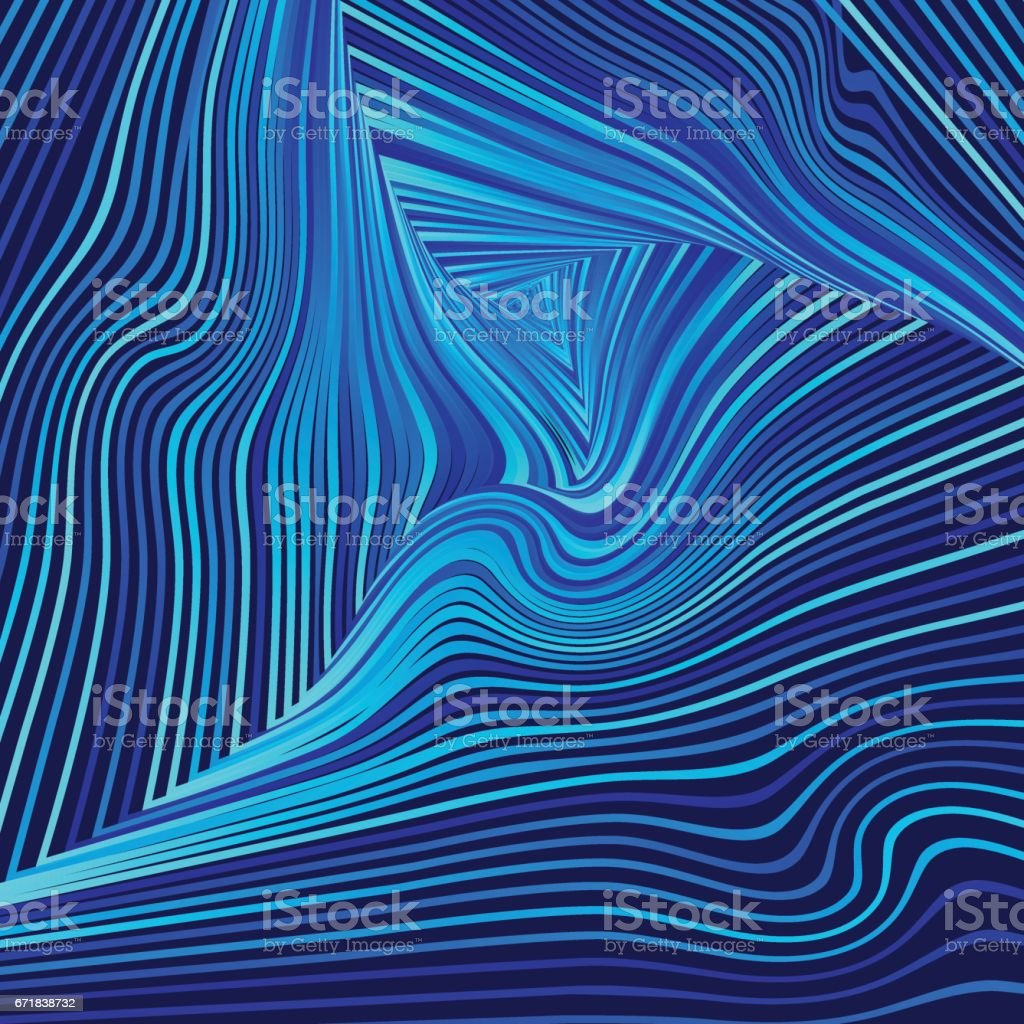 Abstract blue background. vector art illustration