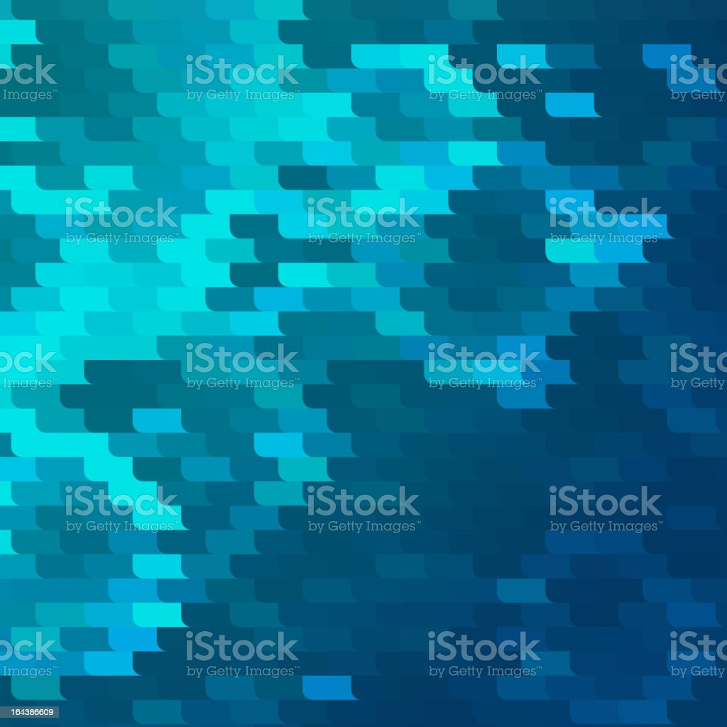 Abstract blue background_2 vector art illustration