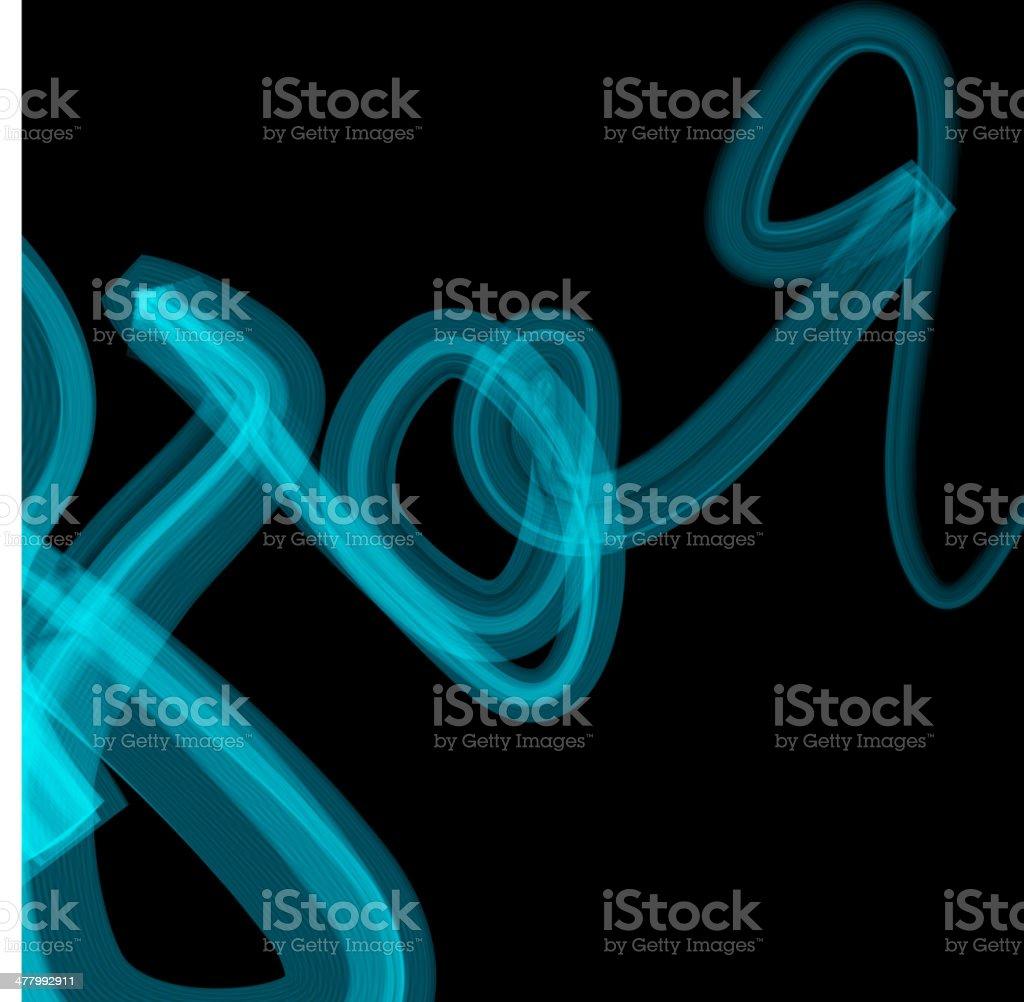 abstract blue blur line vector art illustration