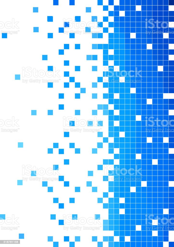 abstract blue check pattern background vector art illustration