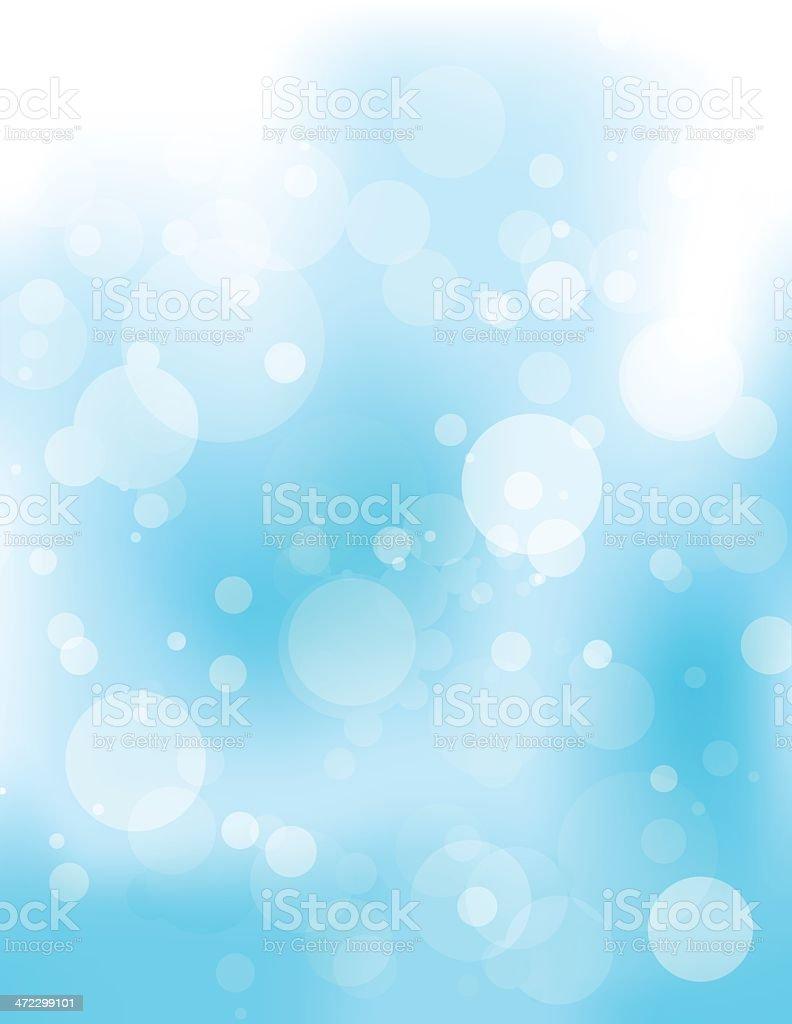 Abstract blue circles royalty-free stock vector art
