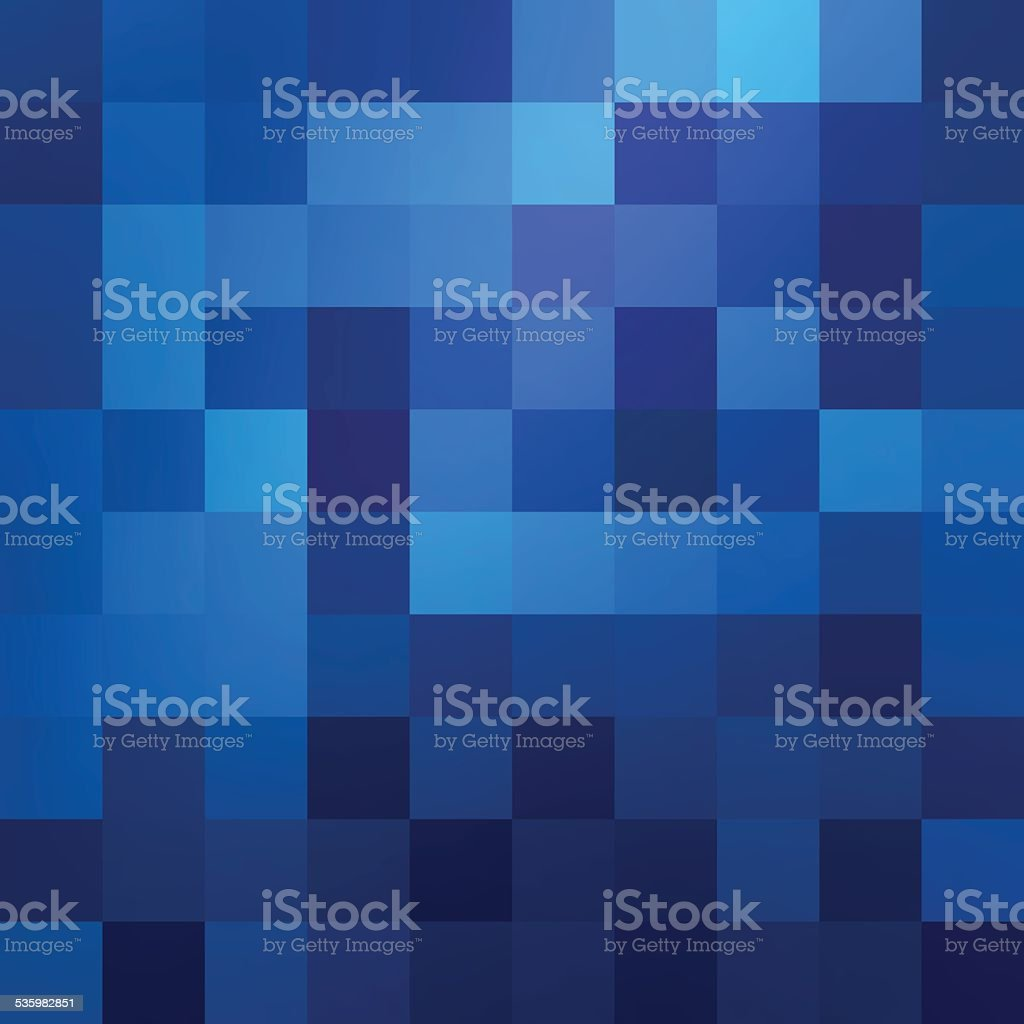 Abstract blue colored wallpaper pattern vector art illustration