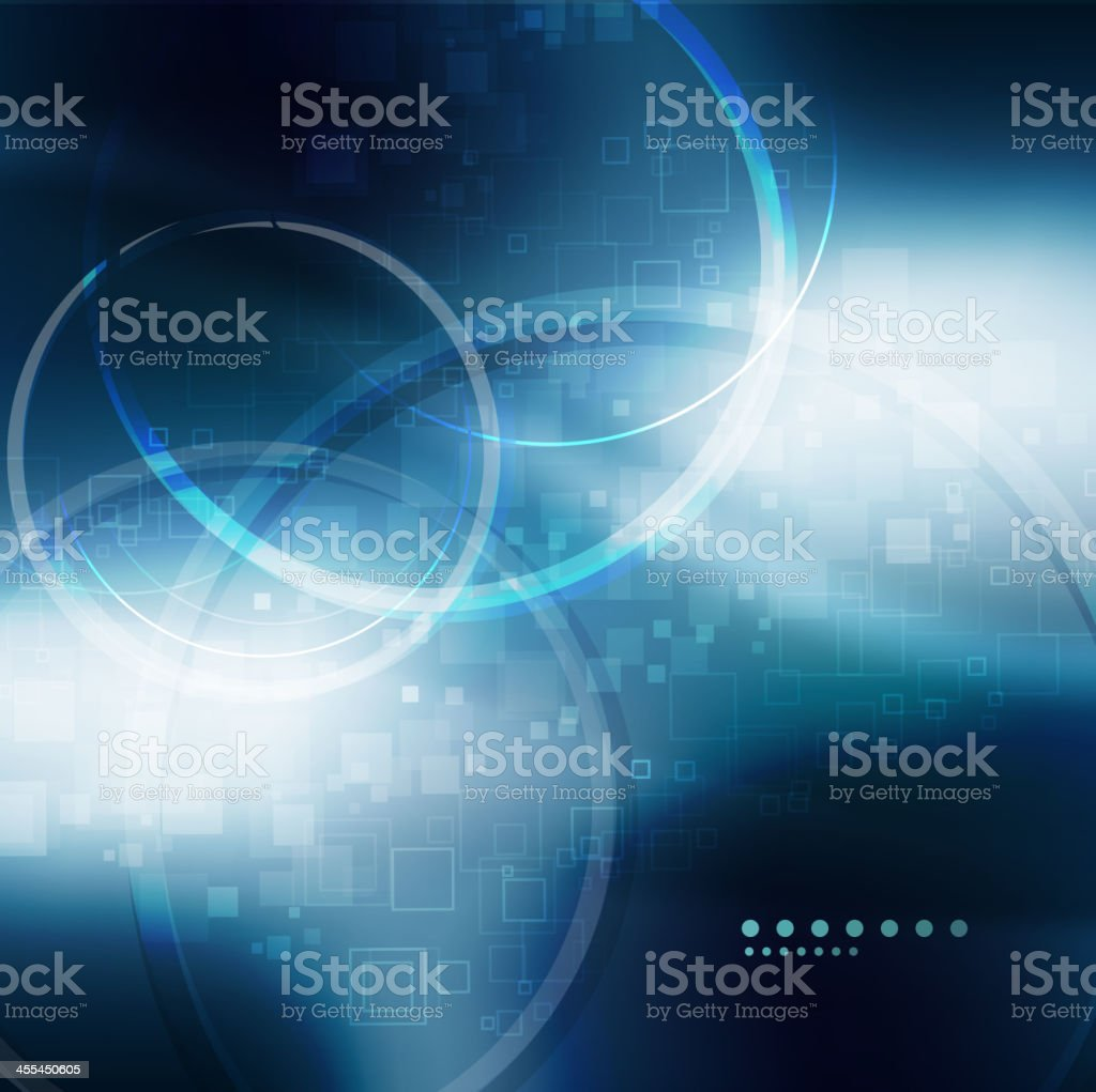 Abstract blue futuristic background royalty-free stock vector art