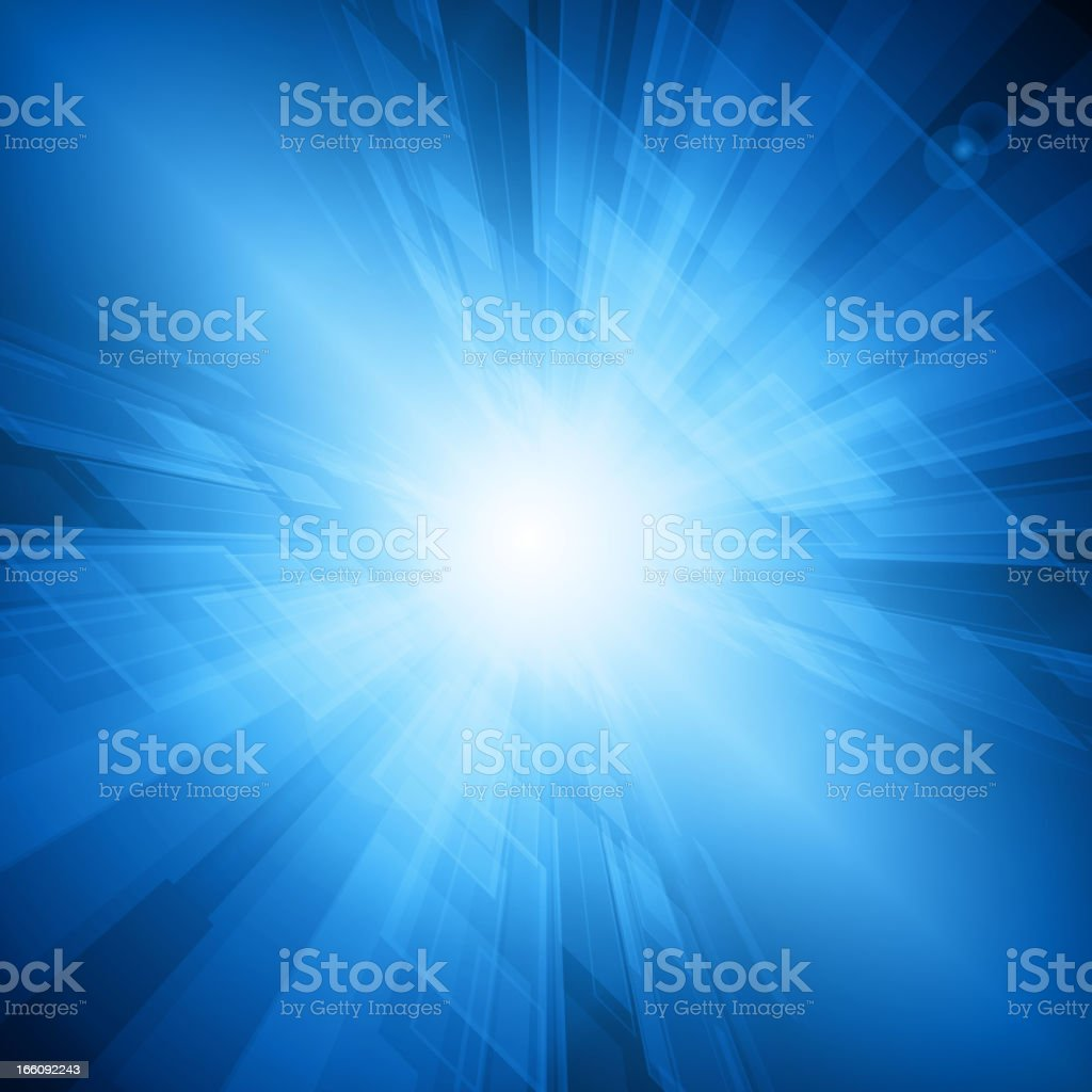 Abstract blue light background royalty-free stock vector art