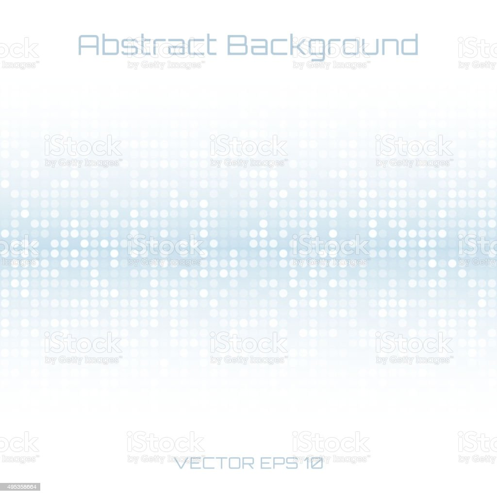 Abstract Blue light Technology Cover Background vector art illustration