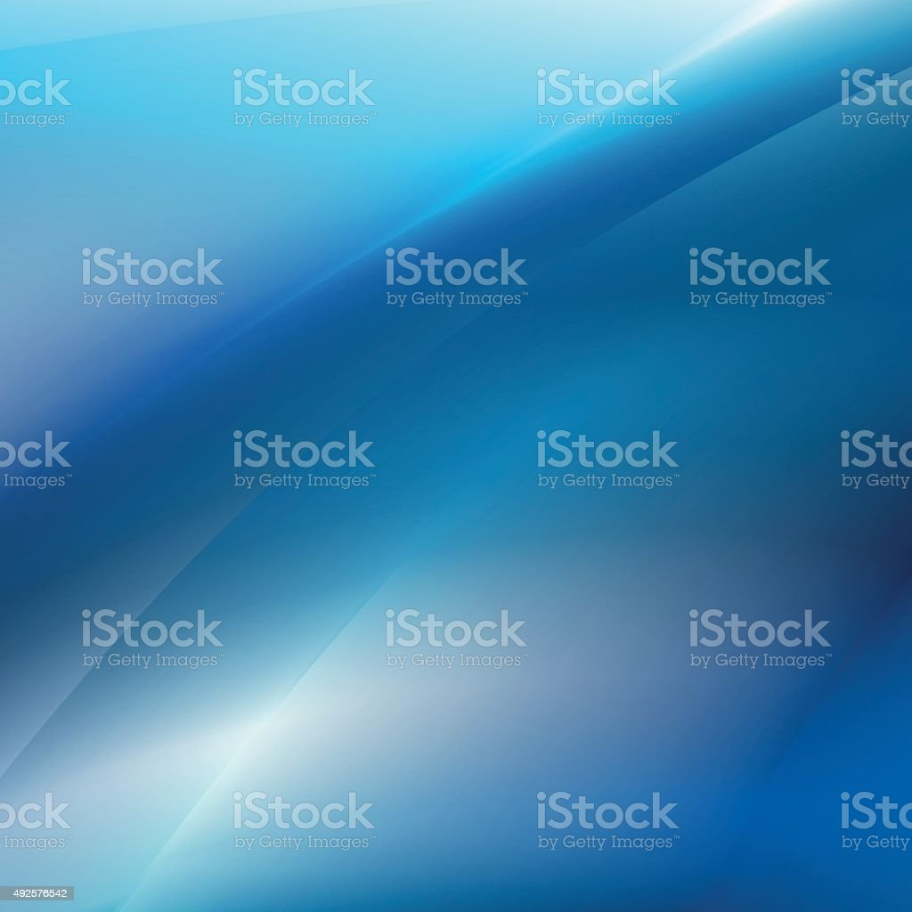 Abstract blue lights futuristic background vector art illustration