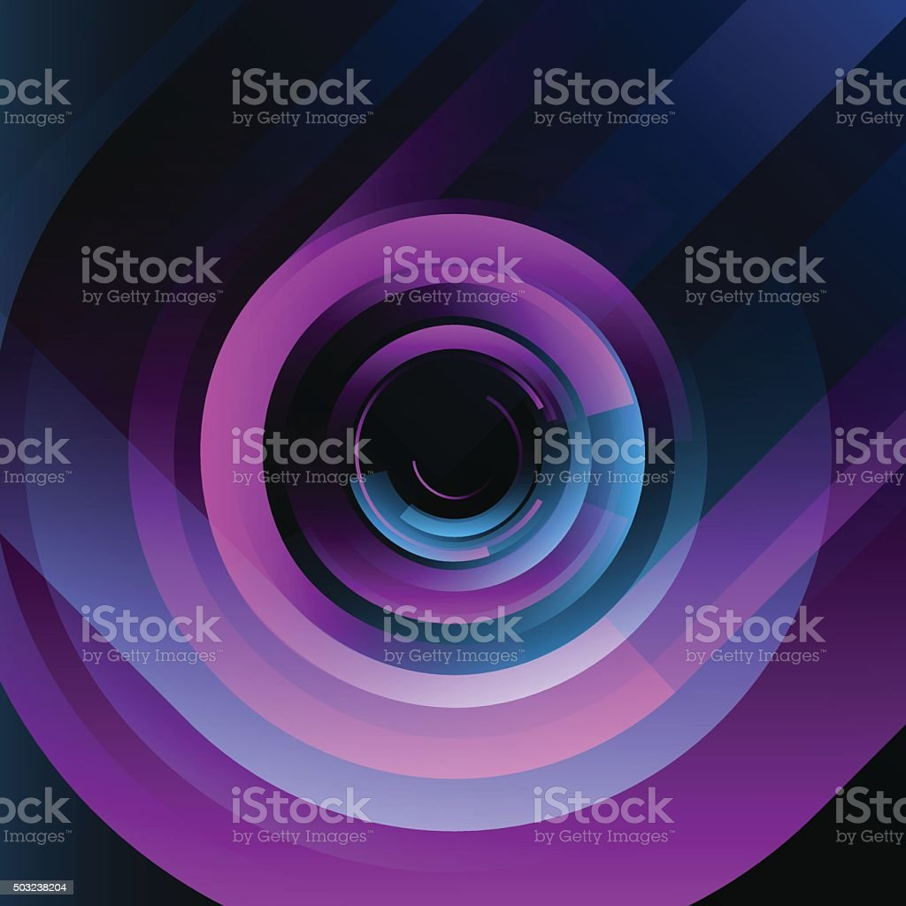 Abstract Blue Pink Background 80s vector art illustration
