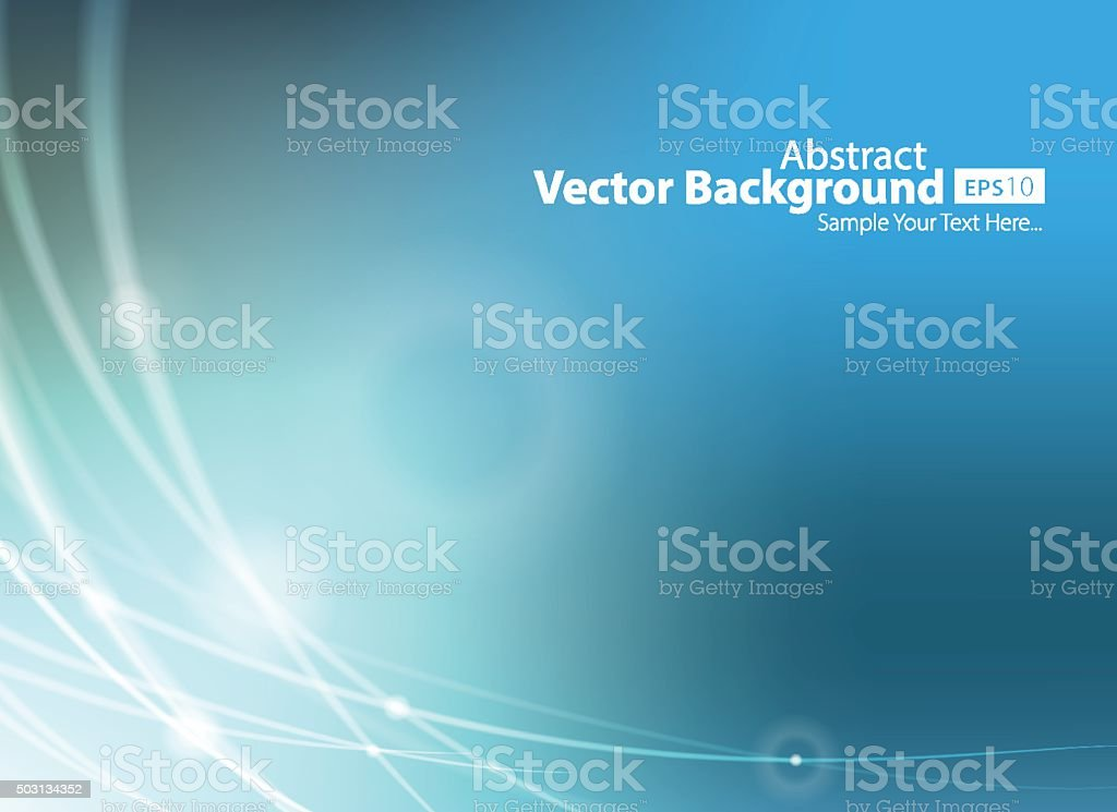 Abstract Blue Technology Background Vector Illustration vector art illustration