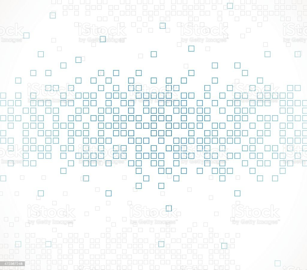 abstract blue technology check pattern background vector art illustration