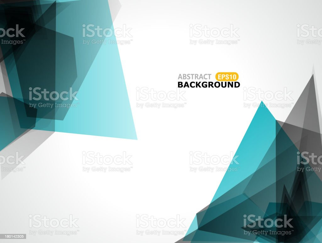 abstract blue transparency background royalty-free stock vector art