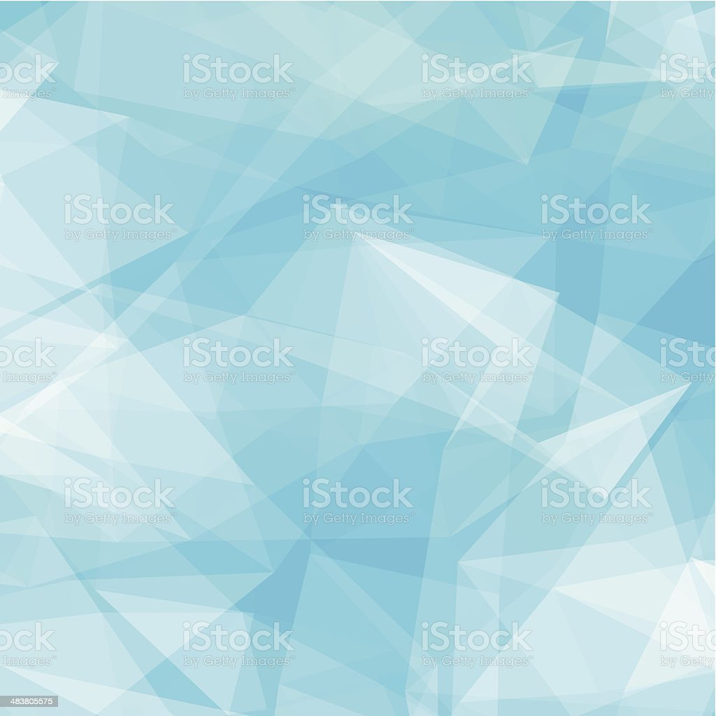 abstract blue transparency technology shape background vector art illustration