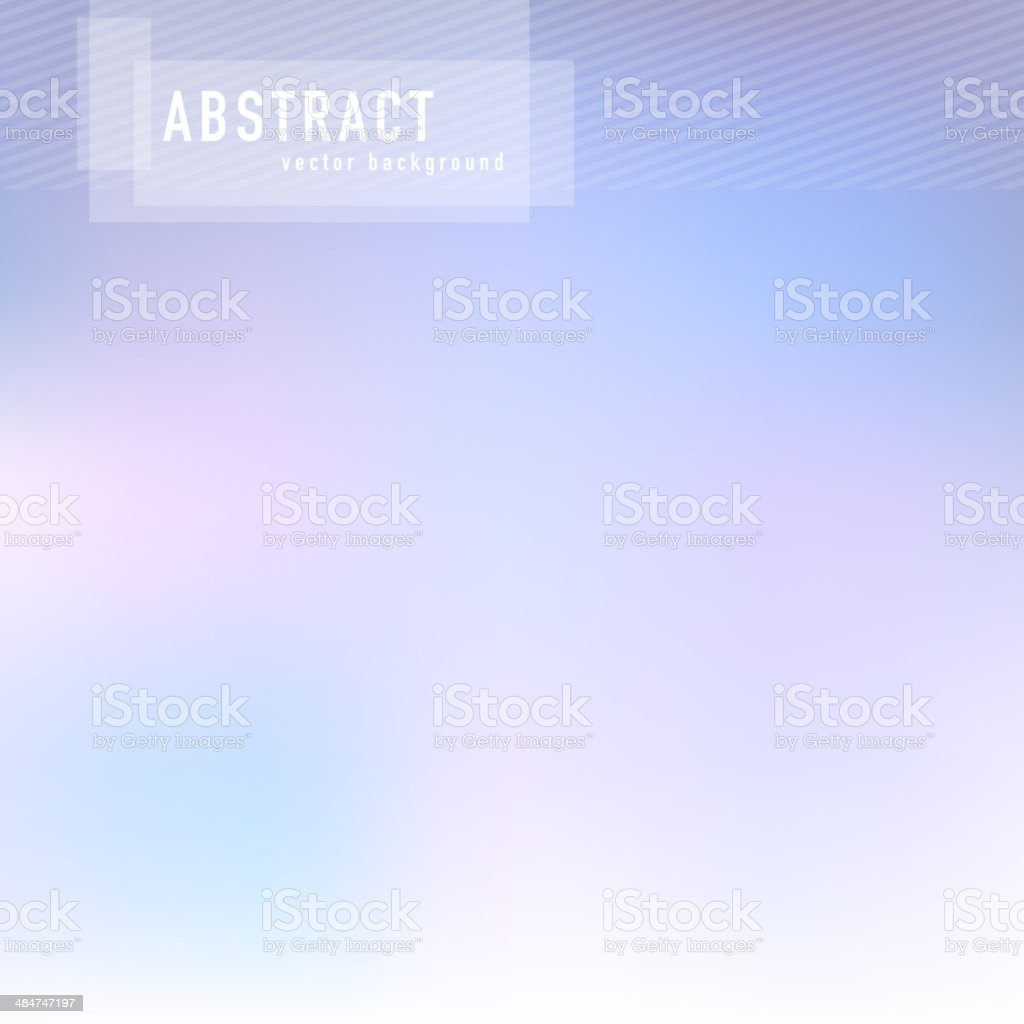 Abstract Blurry Hipster Background vector art illustration