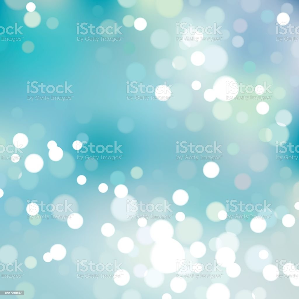 Abstract bokeh background of blue and lights, EPS8 vector art illustration