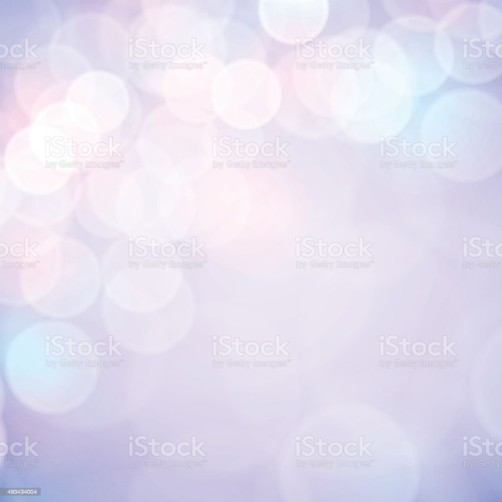 Abstract bokeh backgrounds vector art illustration