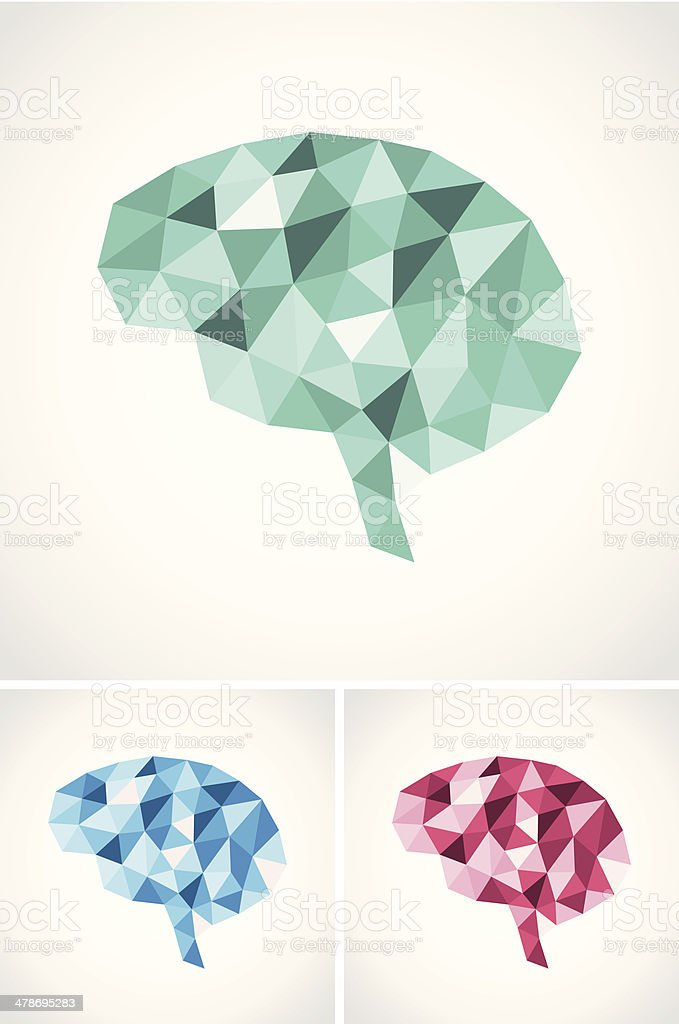 Abstract brain illustration royalty-free stock vector art
