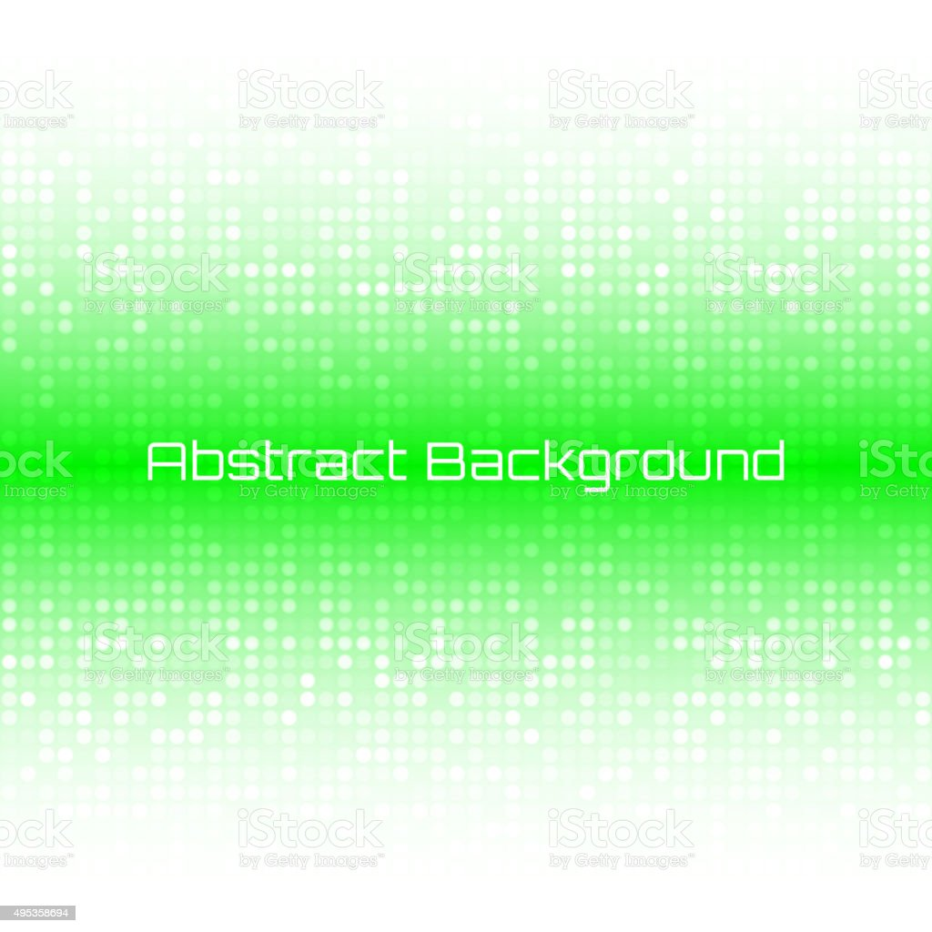 Abstract Bright Light Green Technology Business Cover Background vector art illustration