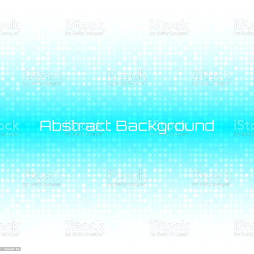 Abstract Bright Light Honey Blue Water Technology Business Cover Background vector art illustration