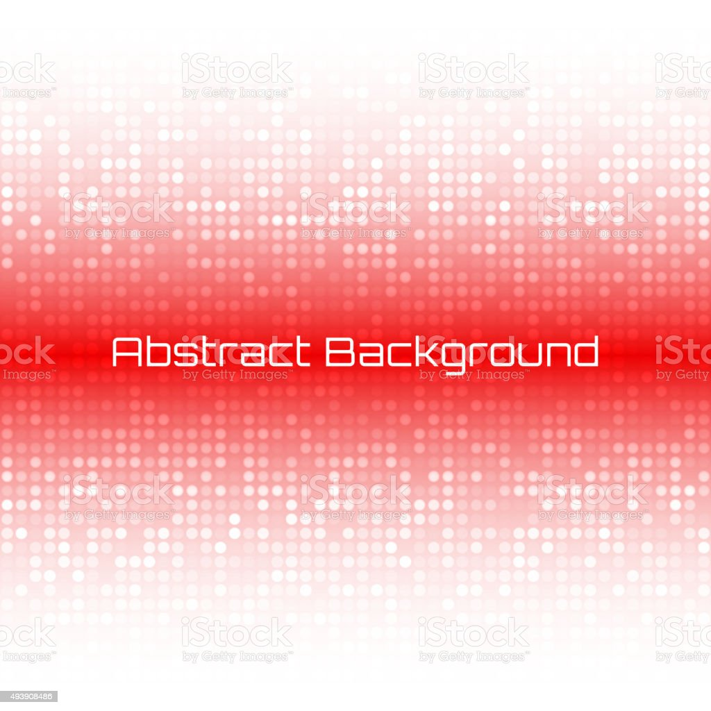 Abstract Bright Light Red Technology Business Cover Background vector art illustration