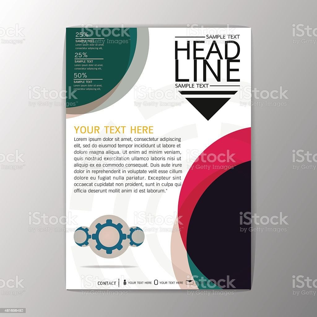 a abstract brochure background geometric design template flyer 1 credit